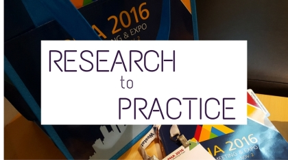 research-to-practice-award
